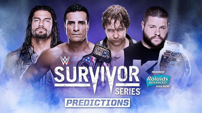 Ecco i vincitori di Survivor Series 2015!